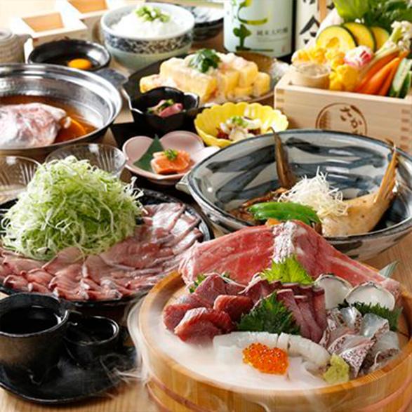 ご宴会「和彩」コース<br>2時間飲み放題付き 5,500円(税込)
