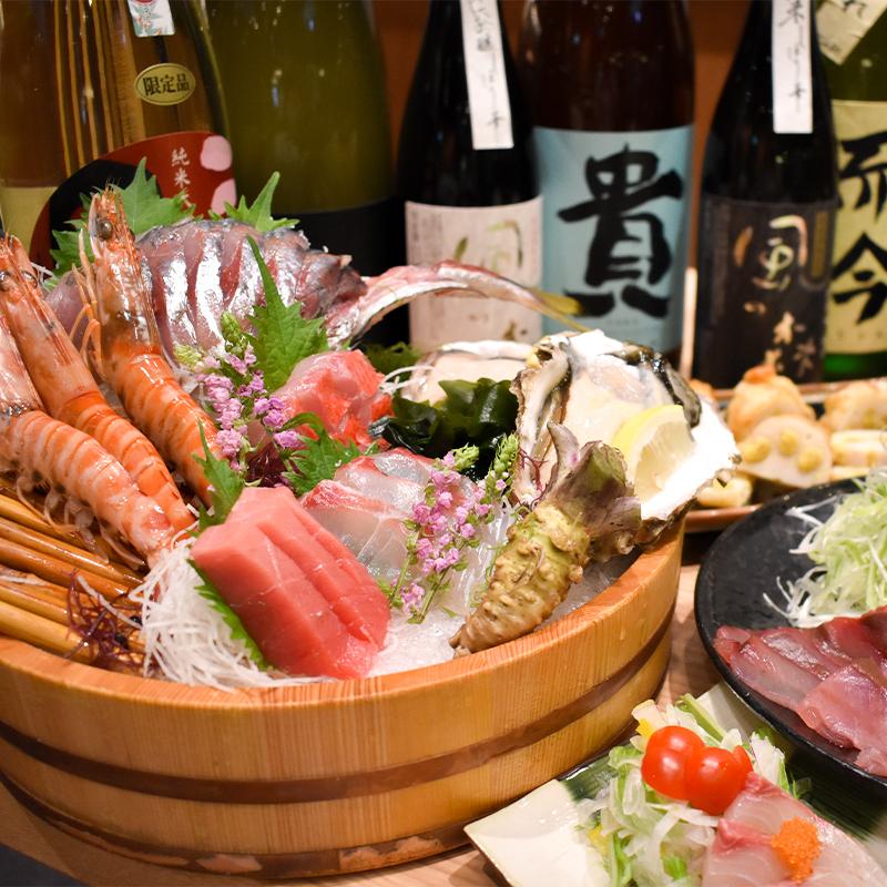 【大鍋で提供】「和彩」コース<br>2時間飲み放題付き 5,500円(税込)